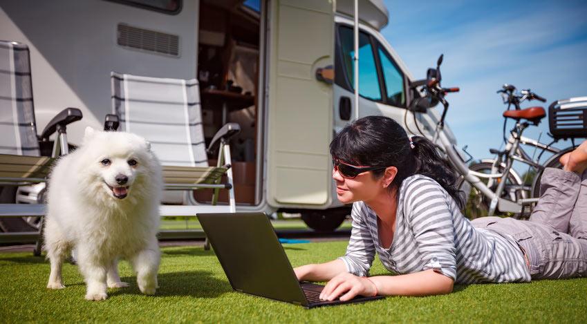 lte wifi camping internet f r campingplatz caravan. Black Bedroom Furniture Sets. Home Design Ideas
